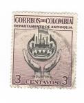 Sellos del Mundo : America : Colombia : Departamento de Antioquia.Industria