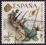 Stamps Spain -  L Aniversario de la Legion