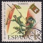 Stamps Spain -  L Aniversario de la Legion