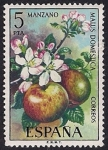 Stamps : Europe : Spain :  Flora