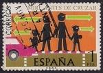 Stamps : Europe : Spain :  Seguridad vial