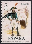 Stamps : Europe : Spain :  Uniformes militares