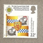 Sellos de Europa - Reino Unido -  Orden del Cardo