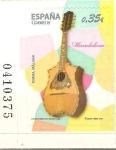 Stamps Spain -  INSTRUMENTOS  MUSICALES.  MANDOLINA.