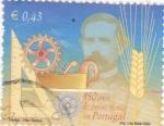 Sellos de Europa - Portugal -  150 ANIVERSARIO DEL DISEÑO TECNICO EN PORTUGAL