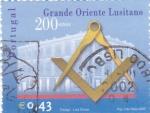 Stamps Portugal -  200 AÑOS GRANDE ORIENTE LUSITANO