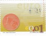 Sellos de Europa - Portugal -  MONEDA DE 1 CENTIMO DE €