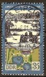 Sellos de Europa - Alemania -  Parques y jardines en DDR ( Wiesenburg Parque).