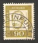 Stamps Germany -  232 A - Franz Oppenheimer