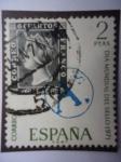 Sellos de Europa - España -  Ed. 2033 -. Día Mundial del Sello.