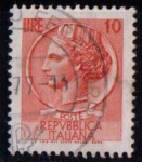 Sellos de Europa - Italia -  Serie básica