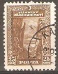 Stamps Turkey -  DESFILADERO  DE  SAKARYA