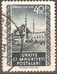 Sellos de Asia - Turquía -  MEZQUITA  EN  ESTANBUL