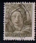 Sellos de Europa - Italia -  834- Obras de Miguel Ángel