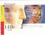 Sellos de Europa - Portugal -  2001 AÑO DE LAS NACIONES UNIDAS PARA EL DIÁLOGO ENTRE CIVILIZACIONES        EL