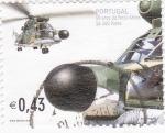 Sellos de Europa - Portugal -  50 AÑOS DE LAS FUERZAS AÉREAS  sa-300 PUMA