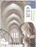 Sellos de Europa - Portugal -  MONASTERIO DE ALCOBAÇA