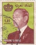 Sellos de Africa - Marruecos -  HASSAN II MONARCA