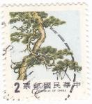 Sellos de Asia - Taiwán -  ARBOL