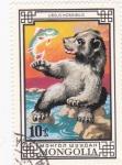 Stamps Mongolia -  URSUS HORRIBILIS
