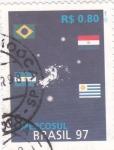 Stamps Brazil -  MERCOSUL