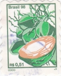 Stamps Brazil -  C O C O
