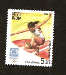 Sellos de Asia - India -  Juegos Olimpicos  Atenas 2004  - Salto