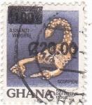 Stamps Ghana -  ESCORPIÓN
