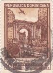 Stamps Dominican Republic -  RUINAS DE LA IGLESIA DE SAN FRANCISCO-CIUDAD DE TRUJILLO