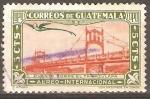 Sellos de America - Guatemala -  PUENTE  SOBRE  EL  RÌO  TAMAZULAPA