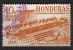 Stamps Honduras -  Conmemorativo 18 de Noviembre de 1960