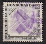 Sellos de America - Honduras -  Homenaje a las Naciones Unidas