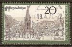 Sellos del Mundo : Europa : Alemania :  Freiburg en Breisgau.