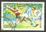 Sellos del Mundo : Asia : Vietnam :  Mundial de fútbol Italia 90