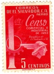 Stamps of the world : El Salvador :  Censo  Comercial E Industrial de 1952
