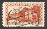 Stamps Germany -  Sarre - 109 - Cuartel Vauban, en Sarrelouis