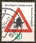 Sellos de Europa - Alemania -  Nuevas normas de tráfico.