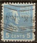 Sellos de America - Estados Unidos -  James Monroe.