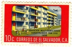 Stamps America - El Salvador -  EDIFICIOS MULTIFAMILIARES CONSTRUIDOS POR I.V.U 1958