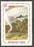 Stamps Haiti -  Fauna, grus americana