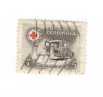 Sellos del Mundo : America : Colombia : Cruz Roja nacional