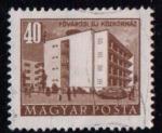 Sellos de Europa - Hungría -  1085-  Hospital en Budapest