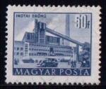 Sellos de Europa - Hungría -  1007A-  Planta de Inota