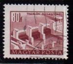 Sellos de Europa - Hungría -  1008B- Presa en el Tisza