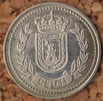 monedas de Europa - España -  CEUTI