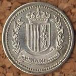 monedas del Mundo : Europa : España :  VILLANUEVA DEL SEGURA
