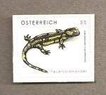 Sellos de Europa - Austria -  Salamandra