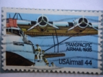 Stamps United States -  USAirmail - Correo Aéreo Transpacifico 1935.