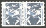 Stamps Germany -  1179 b - Aeropuerto de Frankfurt