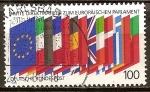 Sellos de Europa - Alemania -  Las terceras elecciones directas al Parlamento Europeo.